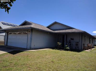 Kahului Single Family Home For Sale: 352 Kuualoha St