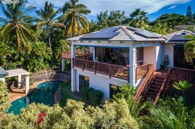 Maui County Single Family Home For Sale: 3340 Kuaua Pl