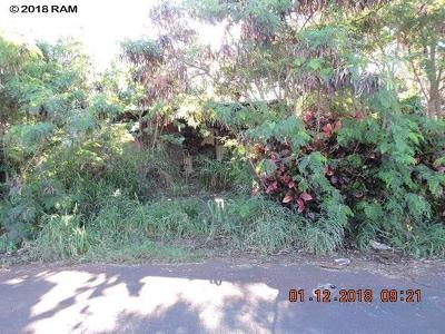 Maui County Single Family Home For Sale: 246 Kahiko St