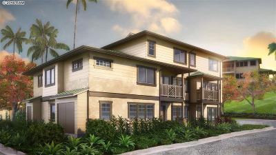Condo/Townhouse For Sale: Honoapiilani Hwy #6E
