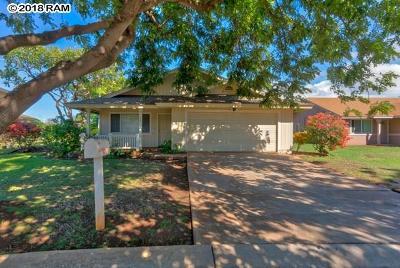 Single Family Home For Sale: 808 Mahealani Pl