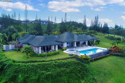 Plantation Estates Single Family Home For Sale: 700 Mokuleia Pl