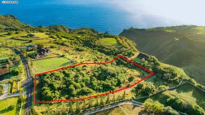 Wailuku HI Residential Lots & Land For Sale: $479,000