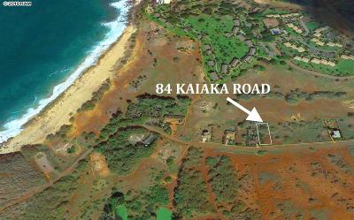 Maui County Residential Lots & Land For Sale: 84 Kaiaka Rd