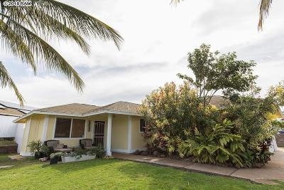 Single Family Home For Sale: 605 Kuuhome St #aka 591