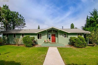 Kula Single Family Home For Sale: 171 Holomakani Rd