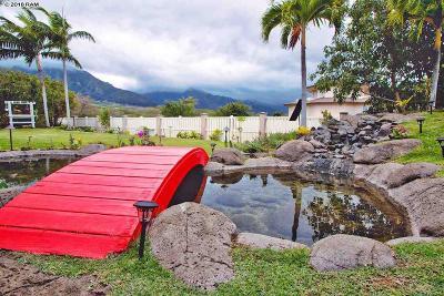 Maui County Single Family Home For Sale: 123 Kamaiki Cir