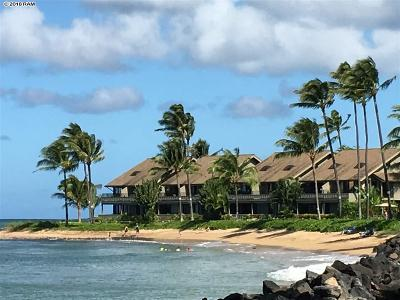 Kahana Reef Condo For Sale: 4471 Lower Honoapiilani Rd #114