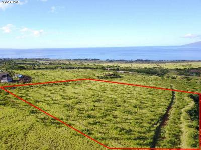 Lahaina HI Residential Lots & Land For Sale: $950,000