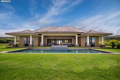 Lahaina HI Single Family Home For Sale: $3,995,000