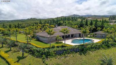 Honolua Ridge Single Family Home For Sale: 222 Keoawa