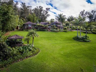Makawao Single Family Home For Sale: 1879 & 1875 Olinda Rd #1879 & 1