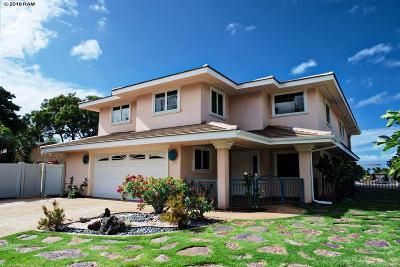 Kihei HI Single Family Home For Sale: $1,590,000