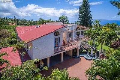 Kihei Single Family Home For Sale: 701 Kupulau Dr