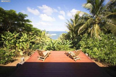 Haiku Single Family Home For Sale: 700 Hoolawa Rd