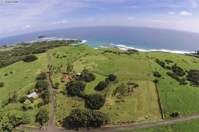 Hana Residential Lots & Land For Sale: 815 Haneoo Road Lot#1