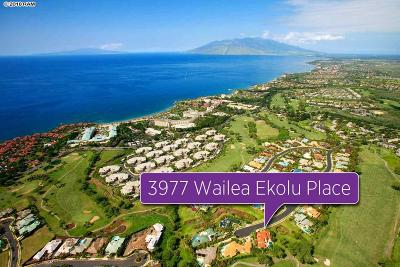 Single Family Home For Sale: 3977 Wailea Ekolu Pl