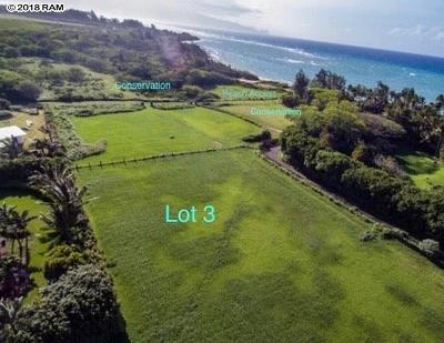Paia Residential Lots & Land For Sale: 3 Kapukulua Pl #Lot 3