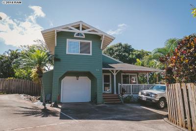 Single Family Home For Sale: 156 Omaikai Pl