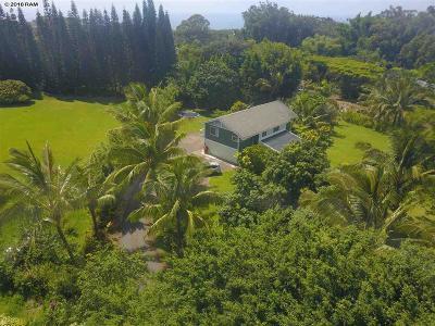 Haiku Single Family Home For Sale: 164 Ulumalu Rd