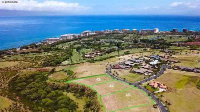 Residential Lots & Land For Sale: 424 Anapuni Loop #Lanikeha