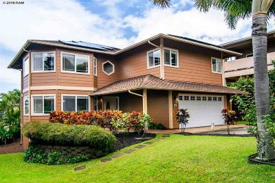 Single Family Home For Sale: 129 Kahana Nui Rd