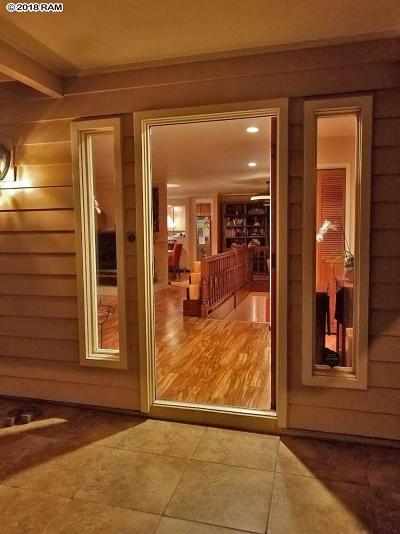 Wailuku HI Single Family Home For Sale: $1,392,000