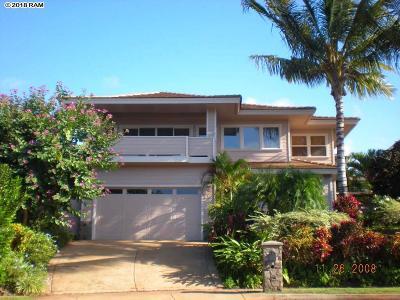 Lahaina HI Single Family Home For Sale: $1,195,000
