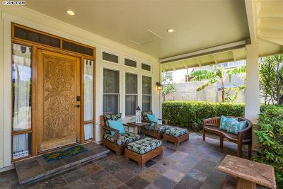 Kihei HI Single Family Home For Sale: $2,450,000