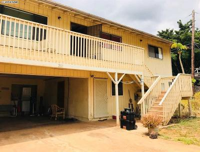 Single Family Home For Sale: 209 Auhana Rd