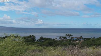 Maui County Residential Lots & Land For Sale: 119 Ulunaui Rd