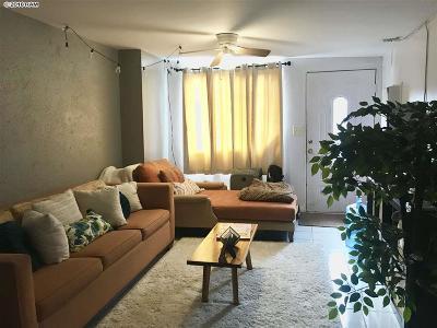 Wailuku Single Family Home For Sale: 319 Leleihoku St