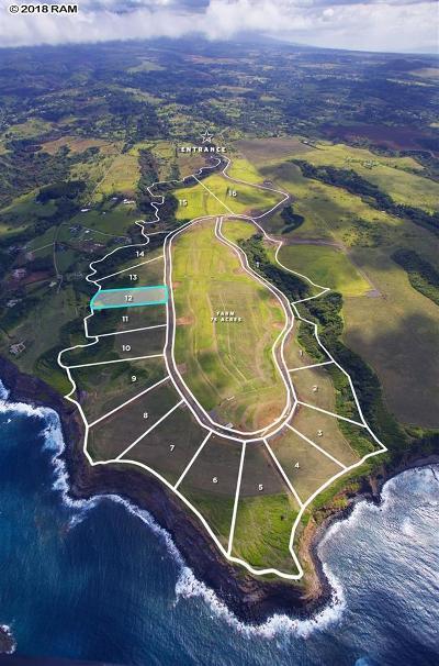 Haiku HI Residential Lots & Land For Sale: $1,200,000