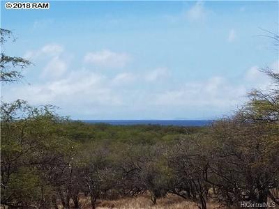 Maui County Residential Lots & Land For Sale: 2 Pa Loa Loop Loop