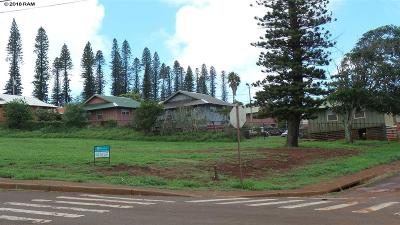 Maui County Residential Lots & Land For Sale: 100 Maunaloa Hwy