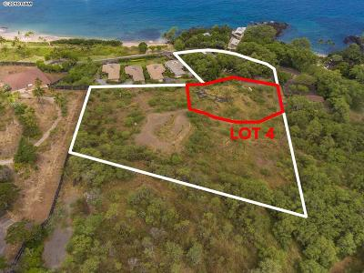 Residential Lots & Land For Sale: 5405 Makena Rd #Lot 4