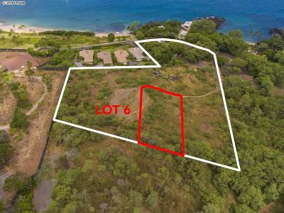 Residential Lots & Land For Sale: 5405 Makena Rd #Lot 6
