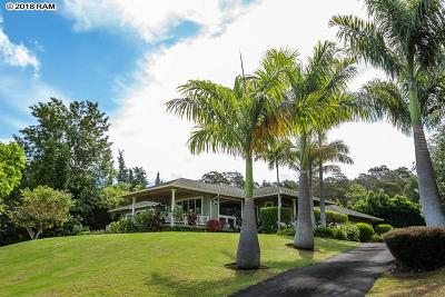 Single Family Home Pending - Cont. To Show: 340 Lower Kimo Dr #A