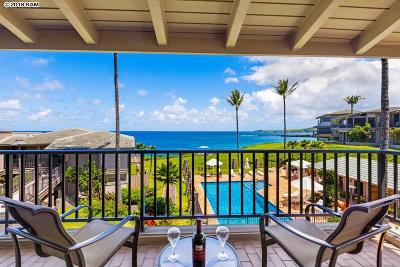 Kapalua Bay Villas Condo/Townhouse For Sale: 500 Bay Dr #25B1-2