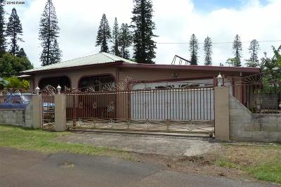 Lanai City HI Single Family Home For Sale: $488,000