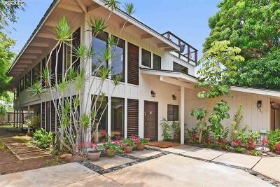 Lahaina HI Single Family Home For Sale: $1,500,000