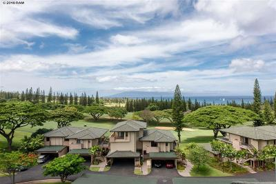 Condo/Townhouse For Sale: 500 Kapalua Dr #19V2