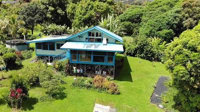 Hana Single Family Home For Sale: 760 Nahiku Rd