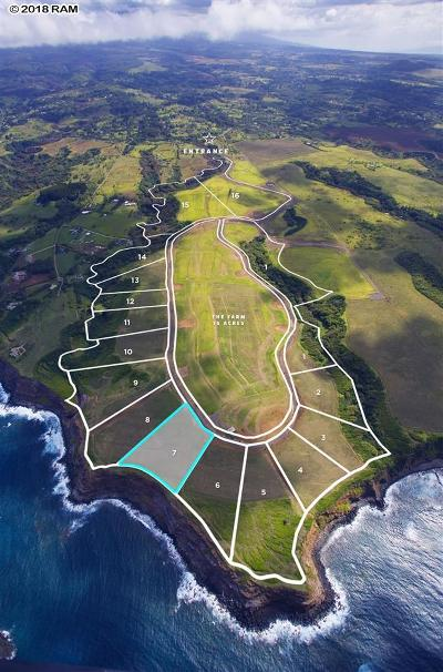 Residential Lots & Land For Sale: 798 Kai Huki Cir #Lot 7
