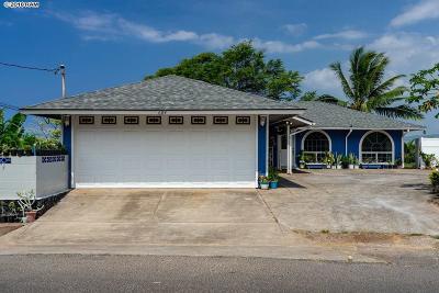 Waiehu Terrace Single Family Home Cntngnt Escrow Canceling: 684 Hilinai St #684 Hili