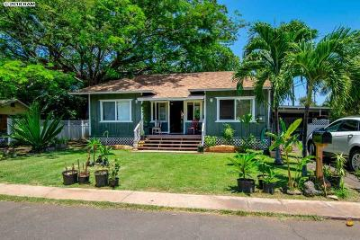Lahaina HI Single Family Home For Sale: $965,000