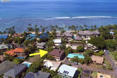 Lahaina HI Single Family Home For Sale: $1,295,000
