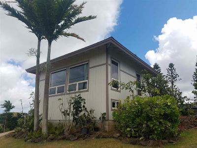 Maui County Single Family Home For Sale: 25 Linohau Pl