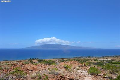 Lahaina Residential Lots & Land For Sale: 31 Pua Niu Way #Lot 1