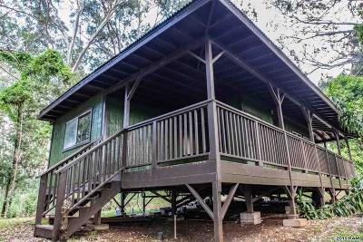 Maui County Single Family Home For Sale: 813 Olinda Rd #Olinda O